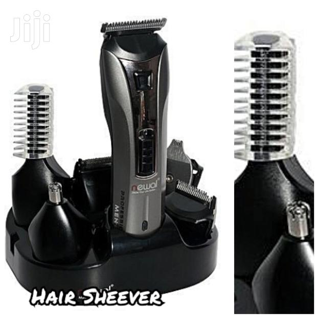 Archive: NWL-4195 Newal Hair Trimmer Set Rechargeable - Black