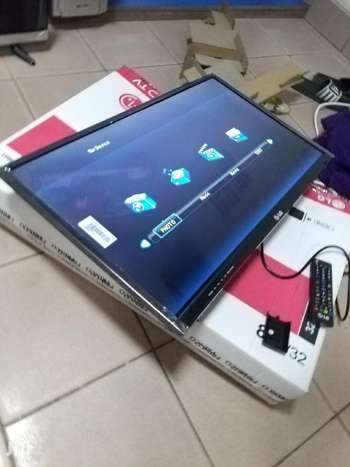 Brand New Led LG Flat Screen TV 32 Inches | TV & DVD Equipment for sale in Kampala, Central Region, Uganda