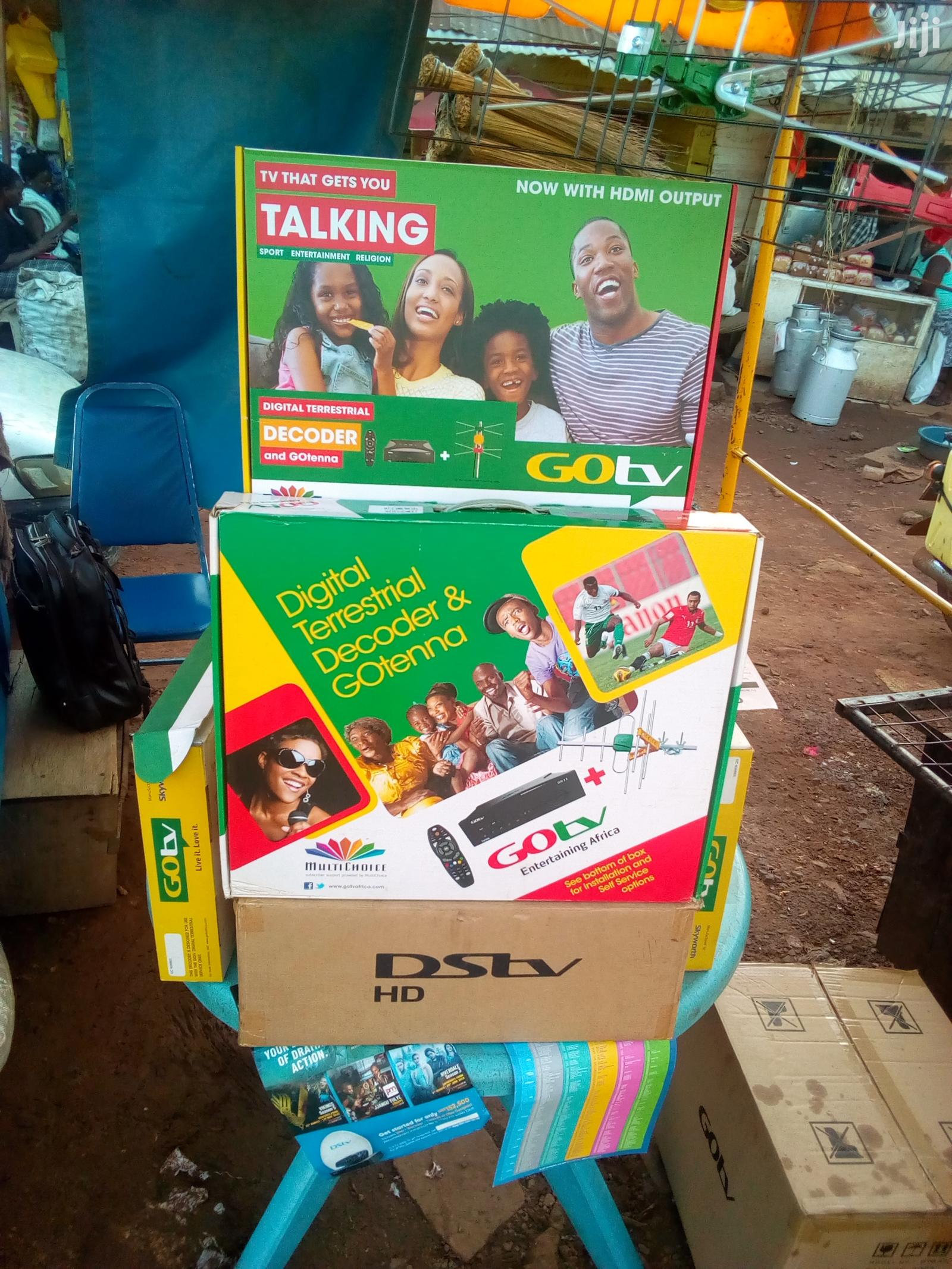 Gotv And DSTV And Free To Air Decoders