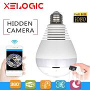 Smart Hidden Bulb 360° CCTV Camera | Security & Surveillance for sale in Central Region, Kampala