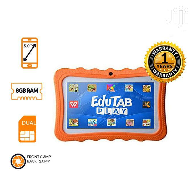Smart 2030 8GB ROM 1GB RAM Kids Study Tablet With Rubber Cover