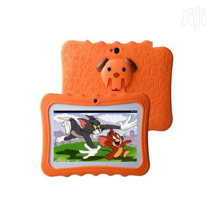 Smart 2030 8GB ROM 1GB RAM Kids Study Tablet With Rubber Cover   Toys for sale in Kampala, Central Region, Uganda