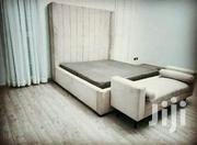 Fabric Bed and Bench | Furniture for sale in Central Region, Kampala