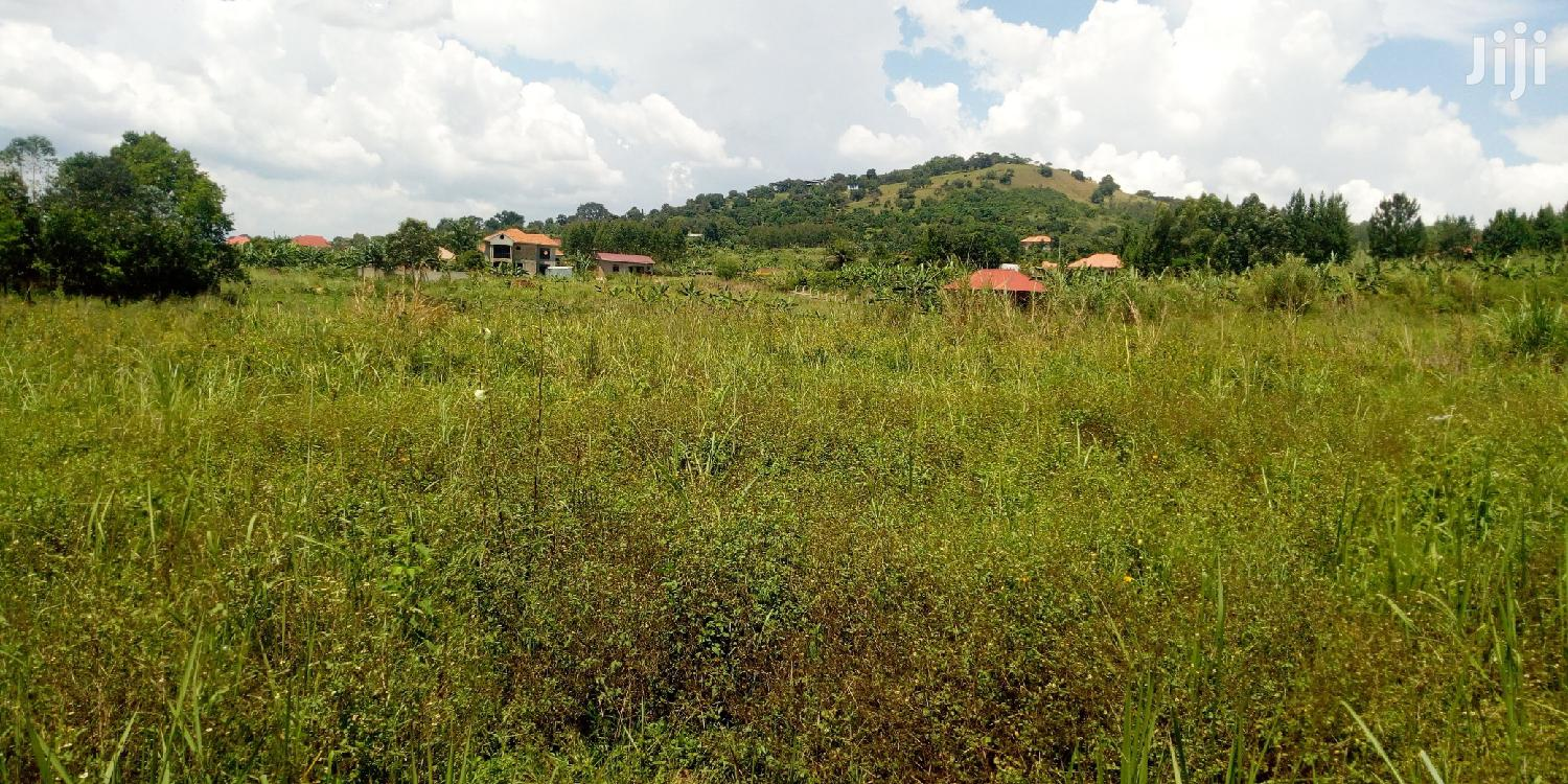 Land In Square Miles And Acres Around Uganda
