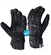 Pure Cowhide Leather Waterproof Motorcycle Gloves Manufactured In UK   Vehicle Parts & Accessories for sale in Central Region, Kampala