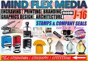 Printing Stamps, Company Seals And Graphics Designing | Printing Services for sale in Central Region, Kampala