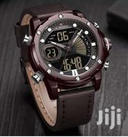 Dual Leather Strapped Waterproof Watch | Watches for sale in Central Region, Kampala