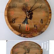 Crafty Banana Fibre Clock   Home Accessories for sale in Central Region, Kampala