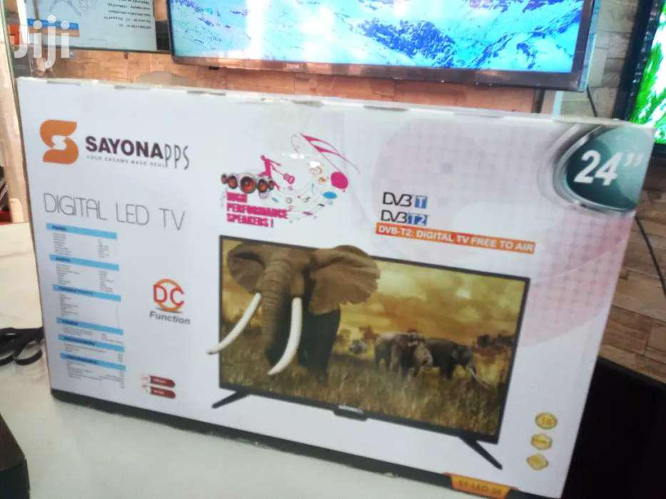 Brand New Sayona Digital Led Tv 24 Inches | TV & DVD Equipment for sale in Kampala, Central Region, Uganda