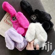 Stylish Rabbit Ears Fluffy Fur Cover For All iPhone Types | Accessories for Mobile Phones & Tablets for sale in Central Region, Kampala