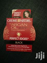 Creme Of Nature Argan Oil Perfect Edge Hair Gel | Hair Beauty for sale in Central Region, Kampala