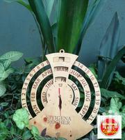 Wall Clock With Calendar System | Home Accessories for sale in Central Region, Kampala