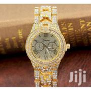 Women's Fully Studded Watch - Gold | Watches for sale in Central Region, Kampala