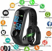 M3 Color Screen Fitness Tracker IP Smart Band - Black   Watches for sale in Central Region, Kampala