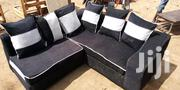 Black L Shaped Sofa | Furniture for sale in Central Region, Kampala