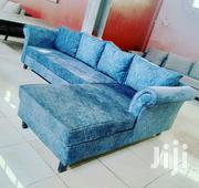 Blue L Shaped Sofa For Sale | Furniture for sale in Central Region, Kampala