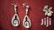 White And Silver Earrings | Jewelry for sale in Central Region, Wakiso