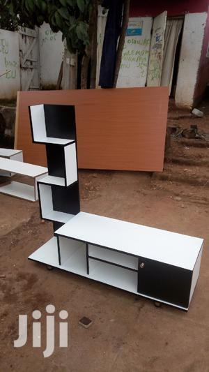 Tv Stand Black and White