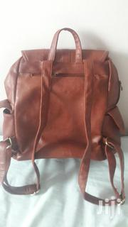 Brown Leather Backpack | Bags for sale in Central Region, Kampala