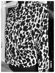 Black And White Animal Print Blouse | Clothing for sale in Central Region, Kampala