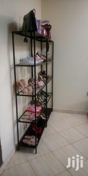 Shoe Rack Metallic With Glass Shelves | Furniture for sale in Central Region, Kampala