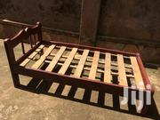 4 By 6' Hard Wood Bed | Furniture for sale in Central Region, Kampala
