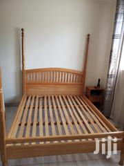 Wooden Double Bed | Furniture for sale in Central Region, Kampala