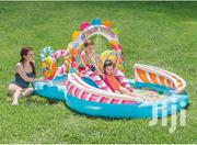 Intex Kids Inflatable Candy Play Center Pool With Waterslide | Toys for sale in Central Region, Kampala