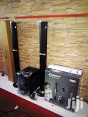 Perfect Heavy Duty Sub Woofer 2.1ch System With 2 Tower Speakers | Audio & Music Equipment for sale in Central Region, Kampala