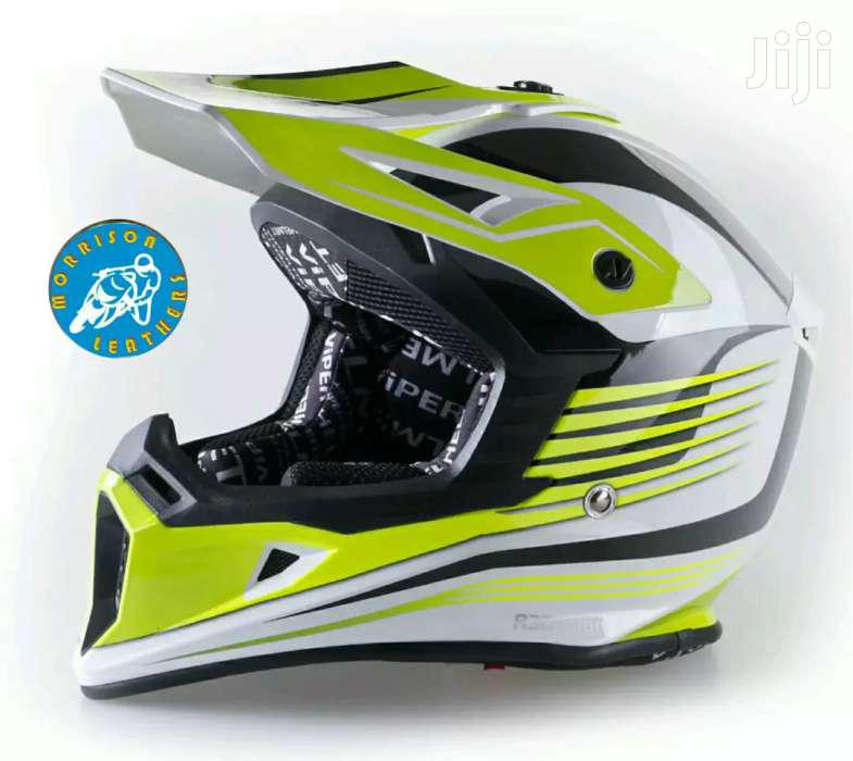 Genuine UK Motorcross/Mx/ATV/Enduro Helmets Available In Sizes L & XL | Vehicle Parts & Accessories for sale in Kampala, Central Region, Uganda