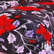 Floral Velvet Bed Cover - Red,Black,White | Home Accessories for sale in Central Region, Kampala