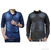 Men's Denim Casual Shirts,   Clothing for sale in Central Region, Kampala