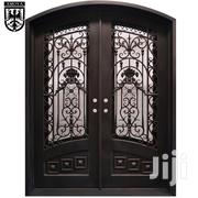 S140819 Wrought Iron Double Doors B | Doors for sale in Central Region, Kampala
