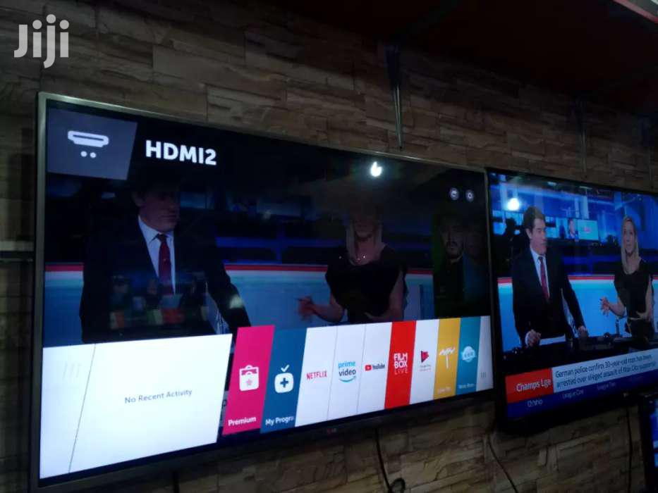 Archive: NEW LG 49 INCHES SMART 3D DIGITAL FLAT SCREEN TV, SILVER BODY