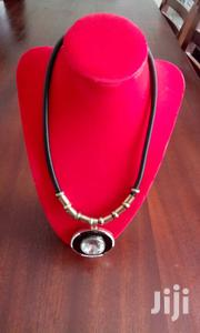Silver Rose Stone Pendant String Necklace | Jewelry for sale in Central Region, Kampala