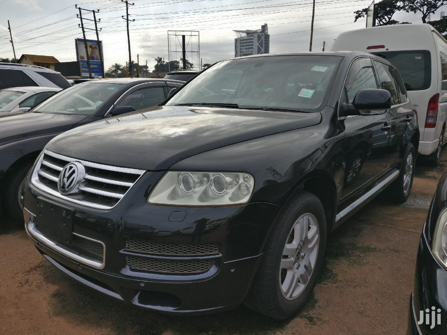 Volkswagen Touareg 2008 Black | Cars for sale in Kampala, Central Region, Uganda